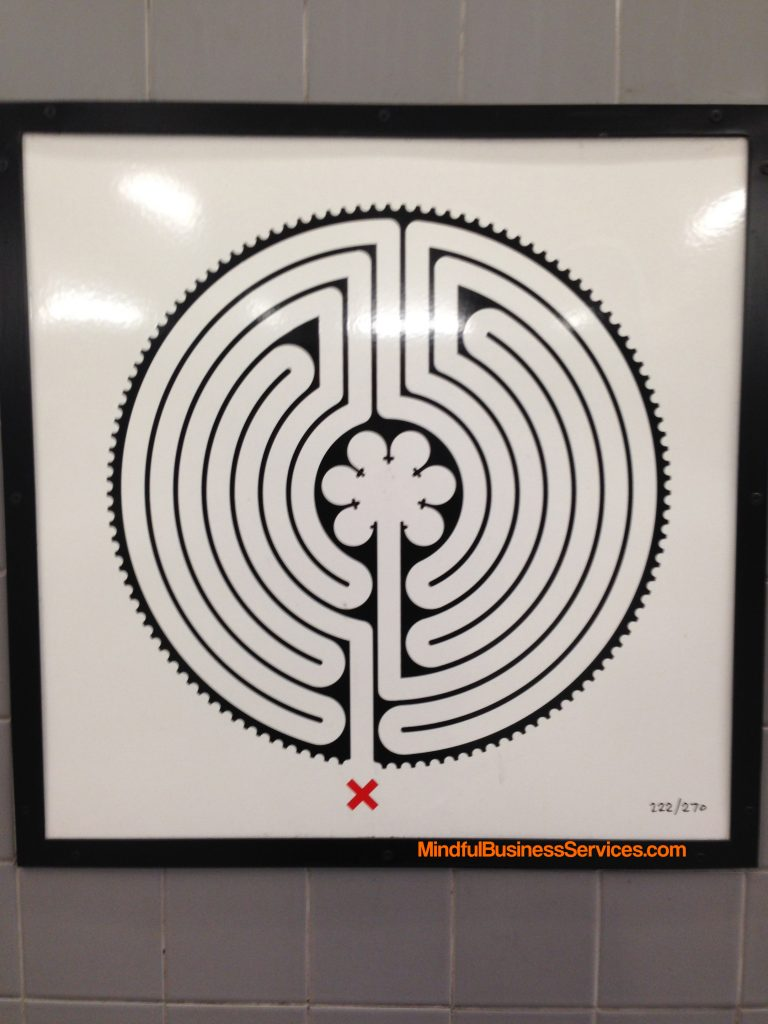 a photo of a tube labyrinth